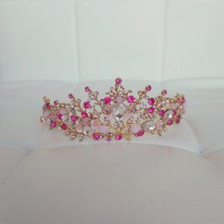 Розовая диадема