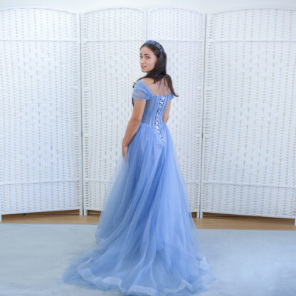 Голубое платье Золушки
