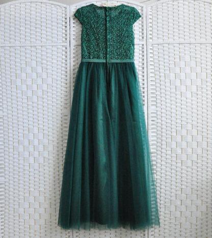 Зеленое платье на выпускной вечер
